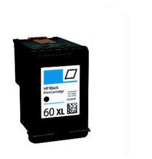 HP 60XL Black Ink Cartridge Remanufactured (Recycled)