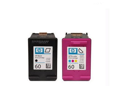 HP 60 Black /Tricolour combo Ink Cartridge Bundle Remanufactured