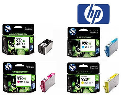 HP 920XL bundle of inkjet cartridges