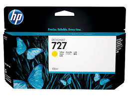 HP B3P21A (HP #727) Genuine Yellow Ink Cartridge
