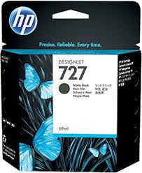 HP C1Q12A (HP #727) Genuine Matte Black Ink Cartridge