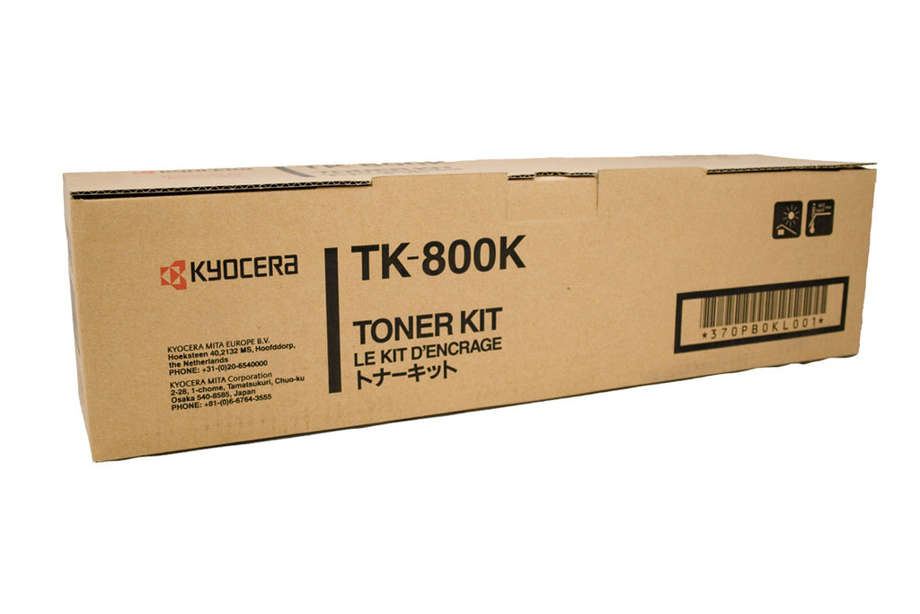 Kyocera TK-800K Genuine Black Toner Cartridge