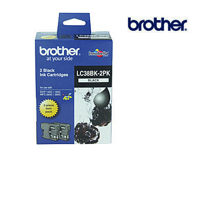 Brother LC38B/67B genuine printer cartridge for  DCP145C,  DCP165C,  MFC250C,  MFC290C printers by Brother