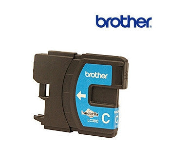 Brother LC38C printer cartridge for DCP145C, DCP165C, DCP195C, MFC250C, MFC290C, 375CW, MFC-255CW, MFC-295CN