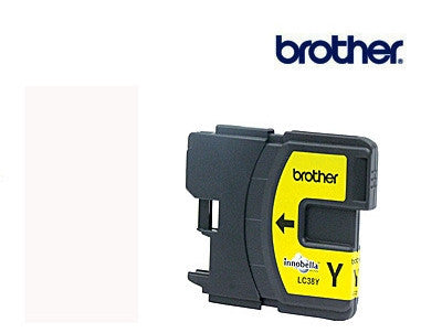 Brother LC38Y Genuine Yellow Ink Cartridge