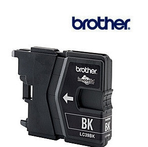 Brother LC39BK genuine printer cartridge