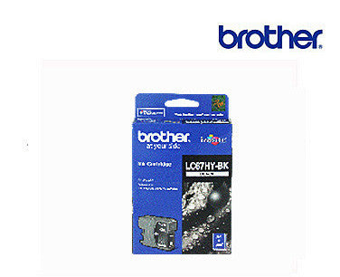 Brother LC-67HY BK Genuine Black High Yield Ink Cartridge