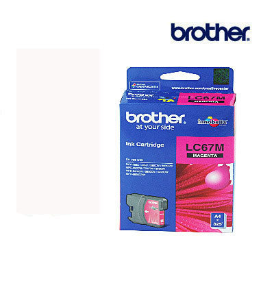 Brother LC67M Genuine Magenta  Ink Cartridge