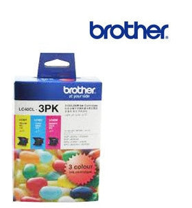 Brother LC40C,M,Y  genuine printer cartridges for Brother DCP-J525W,J725DW,J925DW, MFC-J430W,J432W,J625DW,J825DW printer by Brother