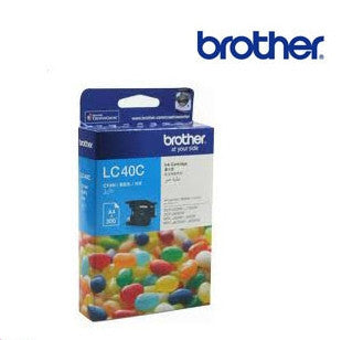 Brother LC40C genuine printer cartridge for Brother DCP-J525W,J725DW,J925DW, MFC-J430W,J432W,J625DW,J825DW
