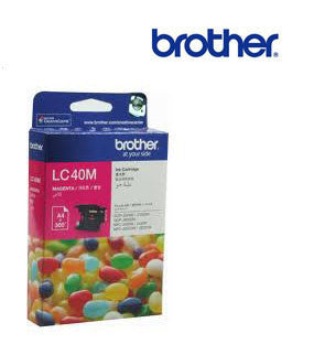Brother LC40M Genuine Magenta Ink Cartridge