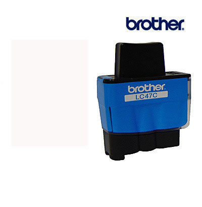 Brother LC47C cyan cartridge for Brother  DCP110C,  DCP115,  DCP120C,  MFC210C,  MFC215C,  MFC3240C,  MFC410CN,  MFC425CN,  MFC5440CN,  MFC5840CN,  MFC620CN,  MFC640CW,  Fax1840C printers