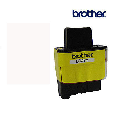 Brother LC47Y Genuine Yellow Ink Cartridge