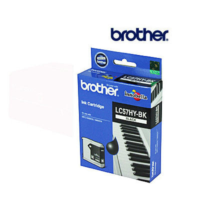 Brother LC57B genuine High Yield  Black Ink Cartridge