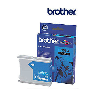 Brother LC67C genuine cyan ink cartridge