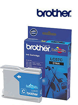 Brother LC57C genuine Cyan Ink Cartridge