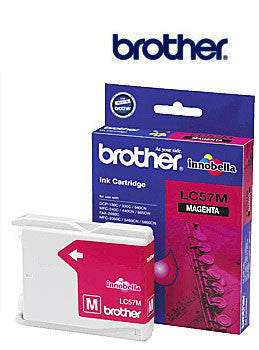 Brother LC57M Genuine Magenta Ink Cartridge