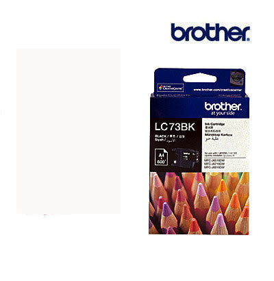 Brother LC73BK  Genuine Black Ink Cartridge