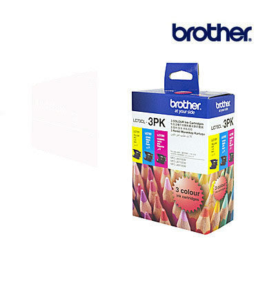 Brother LC73  Genuine Cyan, Magenta & Yellow 3 pack Ink Cartridge