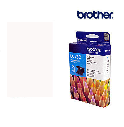 Brother LC73C  Genuine Cyan Ink Cartridge