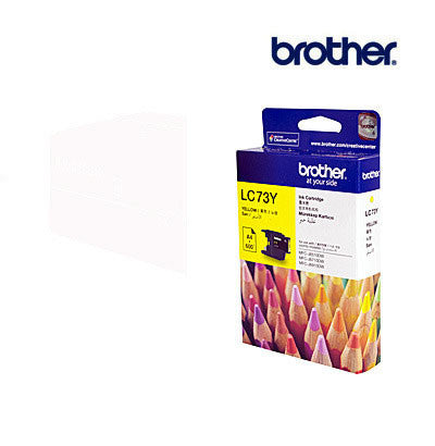 Brother LC73Y  Genuine Yellow Ink Cartridge