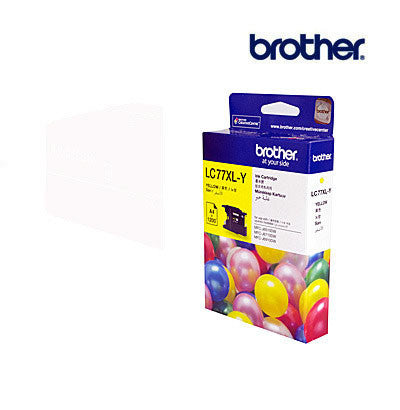Brother LC77XLY  Genuine Yellow Ink Cartridge