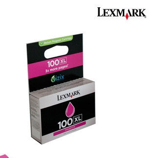 Lexmark 14N1070AAN (#100) Genuine High Yield Magenta Ink Cartridge