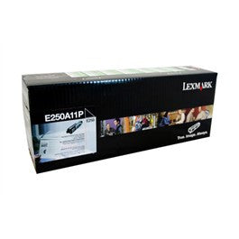 Lexmark E250A11P Genuine Black Laser Toner Cartridge