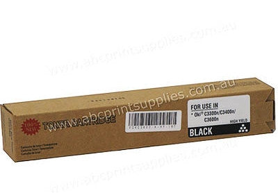 Oki 43459312 Black Laser Compatible Cartridge