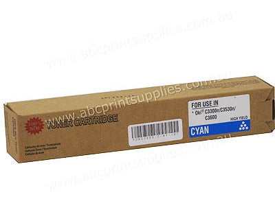 Oki 43459355   Cyan Laser Compatible Cartridge