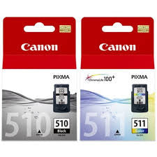 Canon PG-510/CL511 Combo Pack Genuine Cartridges