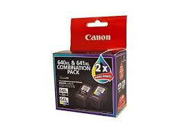 Canon PG640XL CL641XL Genuine Twin pack Ink Cartridges