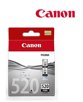 Canon PGI-520BK genuine printer cartridge