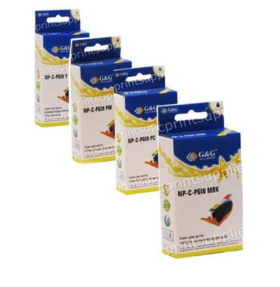 Sharp Type AJ B,C,M,Y Inkjet Cartridge Bundle Compatible
