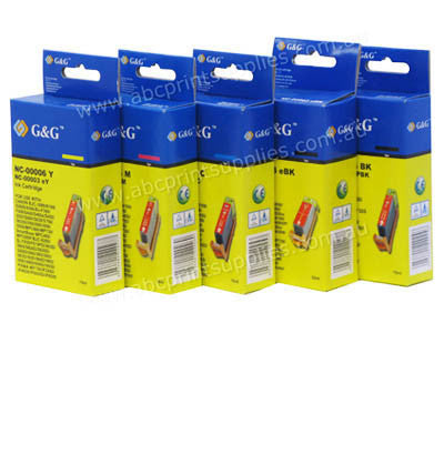HP Photosmart C5380 (5 inks) B, PB, C,M,Y  Bundle Compatible