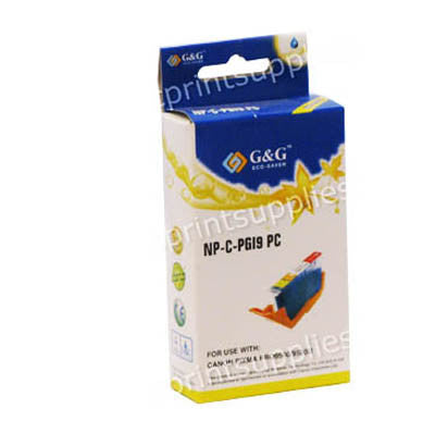 Canon PFI101PC Photo Cyan Wide Format Dye Ink Cartridge Compatible