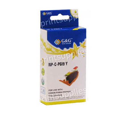 Canon PFI101Y Yellow Wide Format Dye Ink Cartridge Compatible