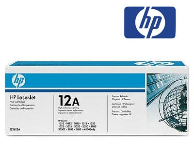 HP Q2612AD (12D) Genuine Black Twin Pack  Toner Cartridges