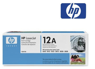HP Q2612A genuine black printer cartridge