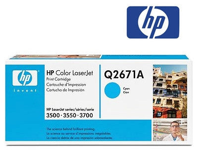 HP Q2671A Genuine Cyan Laser Toner Cartridge