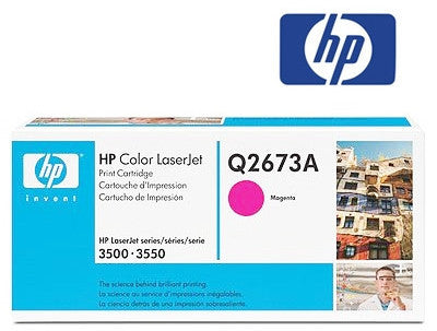 HP Q2673A Genuine magenta cartridge