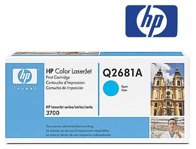 HP Q2681A Genuine Cyan Toner Cartridge
