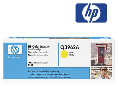 HP Q3962A Genuine Yellow High Yield Toner Cartridge