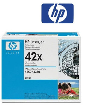 HP Q5942X (HP42X ) Genuine High Yield  Toner Cartridge
