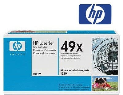 HP  Q5949X (HP 49X) Genuine High Yield BlackToner Cartridge