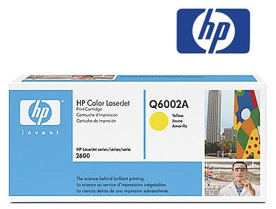 HP Q6002A  Genuine Yellow Toner Cartridge