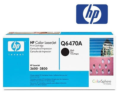 HP Q6470A genuine printer cartridge