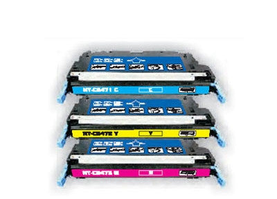 HP 3600 B,C,M, Y Toner Cartridge Bundle