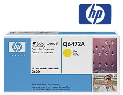 HP Q6472A Genuine Yellow Toner Cartridge
