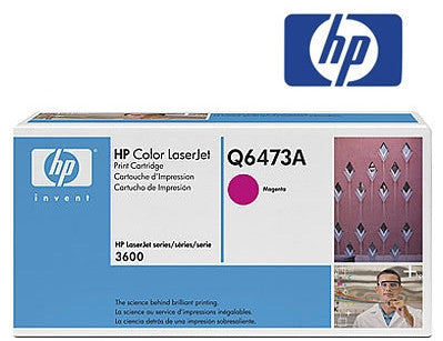 HP Q6473A Genuine Magenta Toner Cartridge